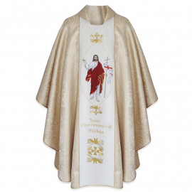 Easter chasuble - Jesus the Resurrected