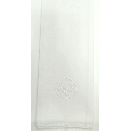 Purificator white IHS host in circle - 100% cotton