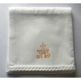 Corporal with gold IHS cross