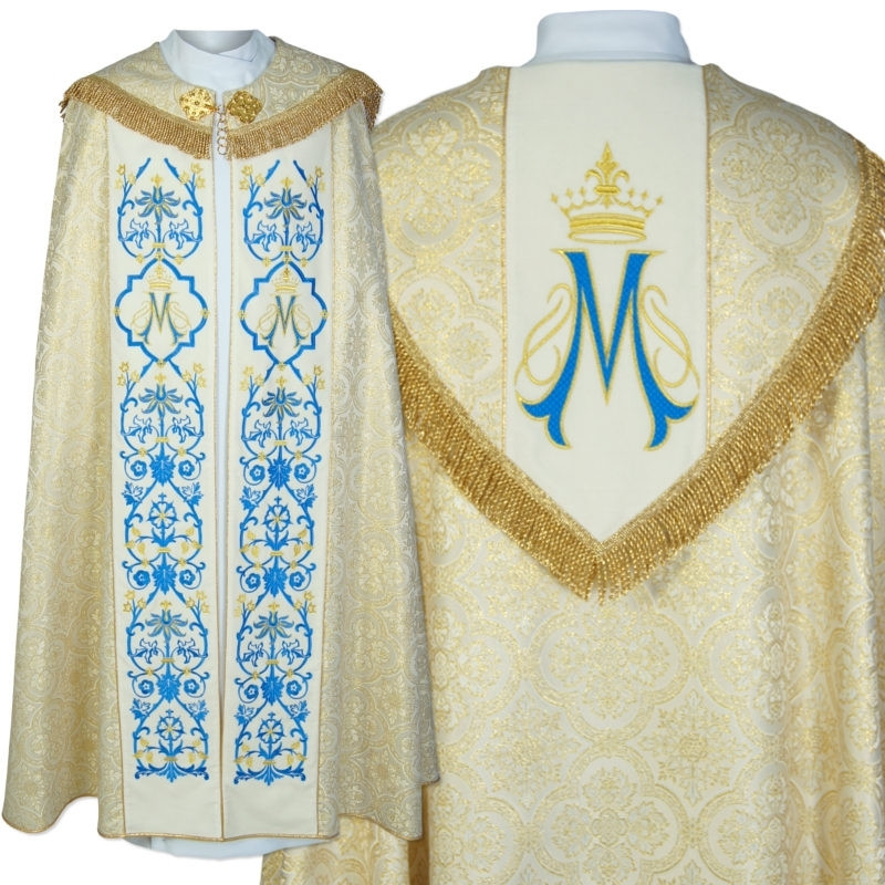Marian embroidered cope (45)