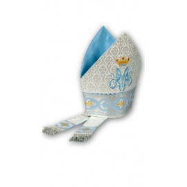 Embroidered Marian mitre (1)