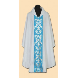 Marian embroidered chasuble (18A)