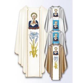 Marian chasuble Heart of Mary (500)