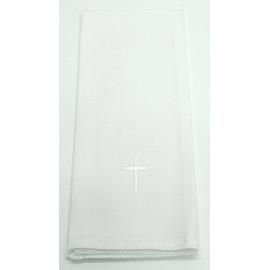 Purificator white cross - 100% cotton