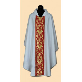 Embroidered chasuble (12A)