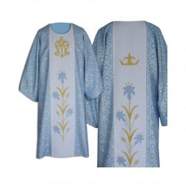 Marian blue Dalmatic