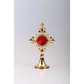 Reliquary gilded 17 cm (16)