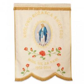 Marian banner - a sample pattern