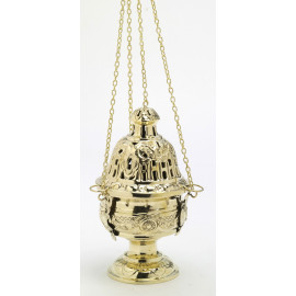 Brass thurible - 24 cm