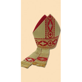 Embroidered mitre (10)