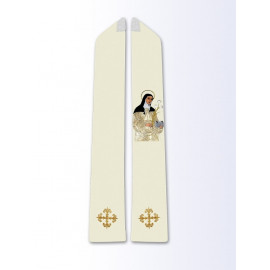 Stole with the image of St. Catherine of Siena