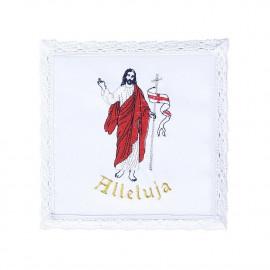 Chalice linen - Alleluia - Risen Christ (11)