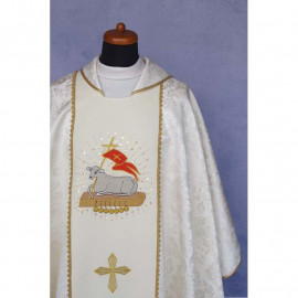 Chasuble embroidered Holy Lamb (1)