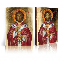 Icon of Jesus with the Host