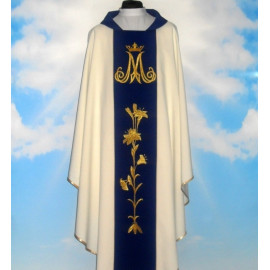 Marian chasuble (T-655)