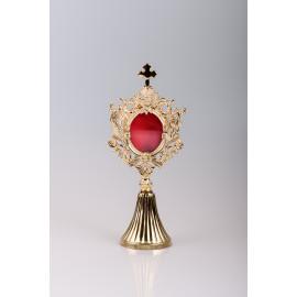 Reliquary gilded 22 cm (17)