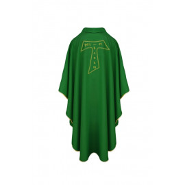 Franciscan chasuble with the cross TAU