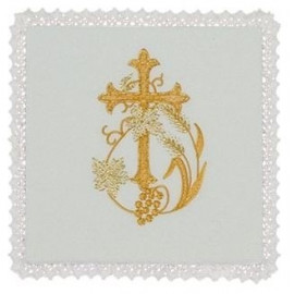 Chalice Pall - Cross Embroidery