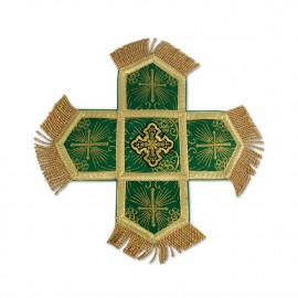Ciborium veil - green (F)