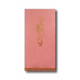 Pink pulpit cover P
