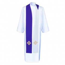 Double-sided priest stole