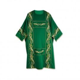 Green dalmatics - woven belts