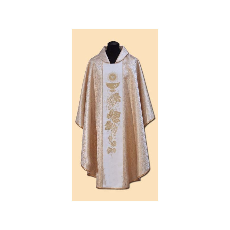 Gold embroidered chasuble (41A)