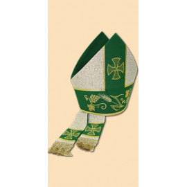 Embroidered mitre (9)
