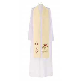 Easter priests' stole with the Lamb (4)
