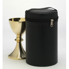 Chalice case and paten - 26 cm. (ecological skin)