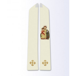Stole with the image of St. Joseph