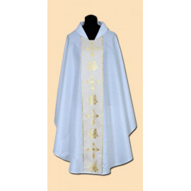 Embroidered chasuble (13A)