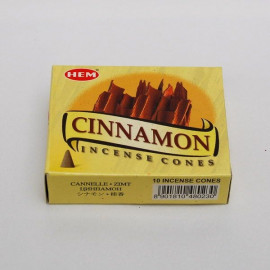 Incense cone - Cinnamon (10 cones)