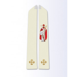 Stole with the image of St. Adalbert
