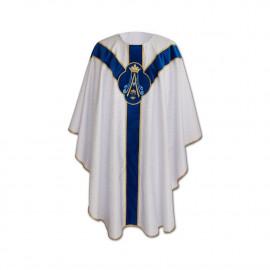 Marian Semi-Gothic Chasuble (19)
