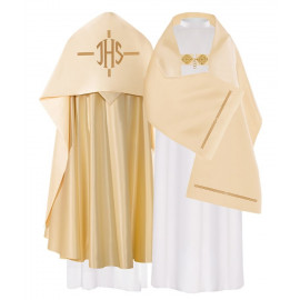 IHS embroidered liturgical veil (24)