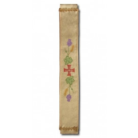 Bell sash embroidered with gold
