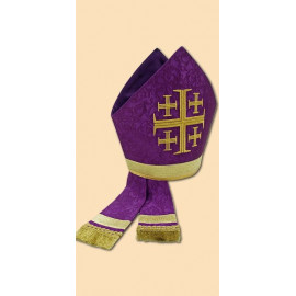 Embroidered mitre (8)