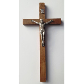 Wooden cross - dark 20 x 10 cm