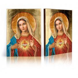Heart of Mary Icon