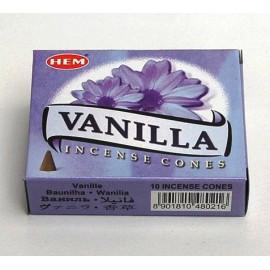 Incense cone - Vanilla (10 cones)