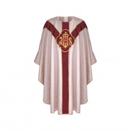 Semi-Gothic Chasuble - silver (36