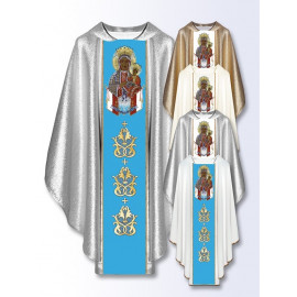 Marian chasuble of Our Lady of Czestochowa (502)