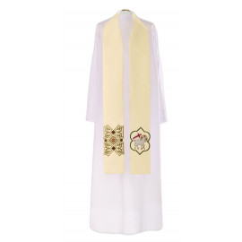 Easter clergy stole with the Lamb (3)