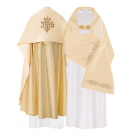IHS embroidered liturgical veil (23)