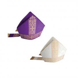 Embroidered mitre (14)