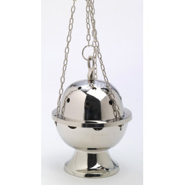 Set of silver thurible + boat (7)