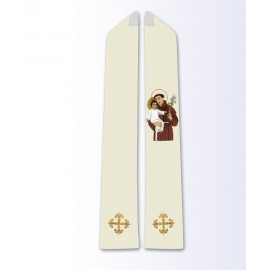 Stole with the image of St. Anthony