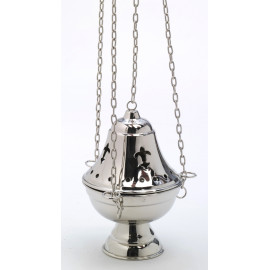 Silver set - boat + thurible (4)