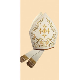 Embroidered mitre (7)